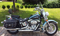 Beau Harley Softail Heritage 2008, comme neuf, Prix ridicule