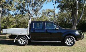 2013 Nissan Navara D40 S6 MY12 ST Midnight Black 5 Speed Sports Automatic Utility Bundaberg West Bundaberg City Preview