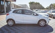 2008 Mazda 2 DE10Y1 Maxx White 4 Speed Automatic Hatchback Alfred Cove Melville Area Preview