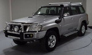 2012 Nissan Patrol Y61 GU 8 ST Silver 4 Speed Automatic Wagon Cooee Burnie Area Preview