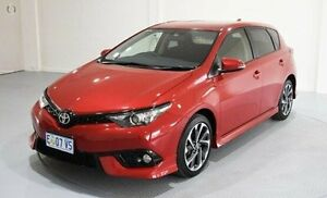 2015 Toyota Corolla ZRE182R SX S-CVT Red 7 Speed Constant Variable Hatchback Kings Meadows Launceston Area Preview