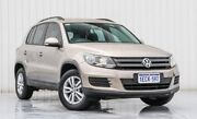 2012 Volkswagen Tiguan 5N MY13 118TSI 2WD Gold 6 Speed Manual Wagon Willetton Canning Area Preview