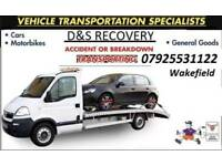 Recovery wakefield leeds bradford west yorkshire