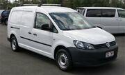 2013 Volkswagen Caddy 2K MY13 Maxi TDI250 Bluemotion White 5 Speed Manual Van Slacks Creek Logan Area Preview