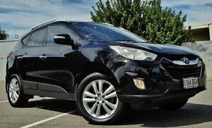 2010 Hyundai ix35 Black Semi Auto Wagon Hendon Charles Sturt Area Preview