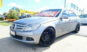 2010 Mercedes-Benz C200 CGI W204 MY10 Classic Grey 5 Speed Sports Automatic Sedan