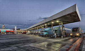 Truck Stops Gas Stations Food Chain Restaurants
