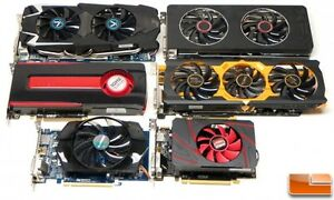 JE RECHERCHE CARTES VIDEO, GPUS! 7950, 7970, R9 390x, R9 280x,