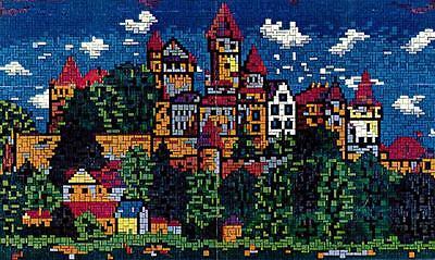 Mini Stecksystem Schloss Braunfels (Hessen) ca. 6.200 Teile Nr. 42143