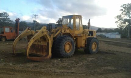 Wtd loader bucket and tyre  National Park Derwent Valley Preview