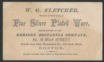 Гиды по ценам 1870s Boston Meriden
