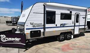 Crusader Weekend Warrior Caravan - Many features. Great value! Wodonga Wodonga Area Preview