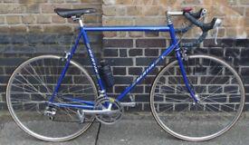 French road bike BERTIN, frame size 23inch - 14 speed Shimano, light & fast, serviced , WARRANTY
