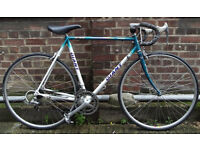 Racing bike GIANT Cro-Mo frame size 22inch Mint condition like NEW, serviced SCHWALBE tyres, Shimano