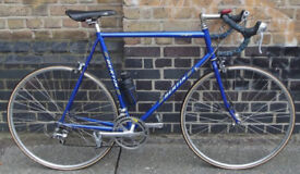 French road bike BERTIN, frame size 23inch - 14 speed Shimano, light & fast, serviced , WARRANTY