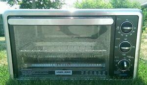 Black & Decker Toaster Oven - Well-built, well taken care of