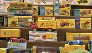 OLD TOYS- Dinky Toys, Corgi, Lesney Matchbox Collections
