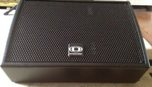 Dynacord AM 12 speakers powered active qsc ev rcf
