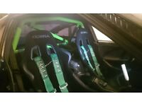 Nissan 200sx S13 roll cage