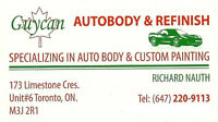 Quality Automotive Repairs, Paint and Collision Experts!!