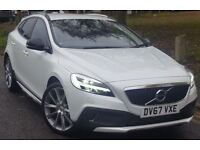 VOLVO V40 D4 [190] Cross Country Pro 5dr Geartronic (white) 2017