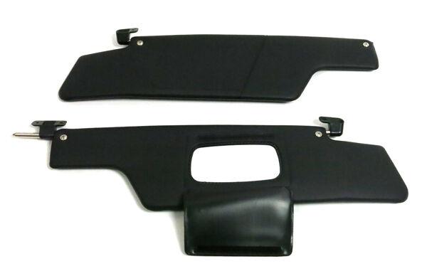 For Porsche 914 Black Sunvisor Set Oem Flap New
