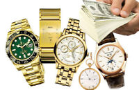 Sell your Rolex, Breitling, Omega, Cartier, Tag Heuer any watch