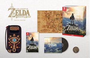 Zelda Breath of the wild special edition NEUF