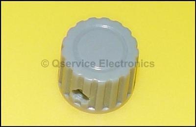 2 X Tektronix Knob Gray For 500 600 Series Oscillescopes - Nos