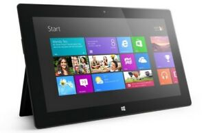 Microsoft Surface: Comes with keyboard and accessories