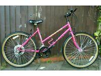 Ladies bike, very neat frame