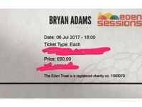 Bryan Adams concert tickets