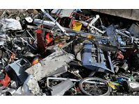 FREE COLLECTION OF SCRAP METAL, BELFAST. TUES MAY 2nd