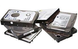 5 x Hard Drives - Over 3TB