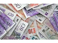 Cash paid for job lots, surplus stock, bankrupt stock