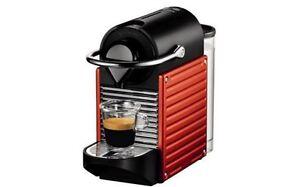 Nespresso Expresso Machine-Pixie Carmine