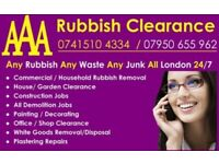 24/7🔴ALL LONDON💯 % LOWCOST🌈 WASTE CLEARANCE RUBBISH REMOVAL FURNITURE JUNK DISPOSAL COLLECTION