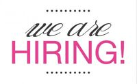 Hiring for all positions