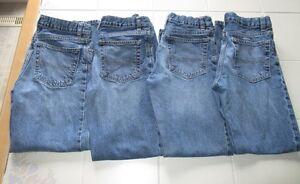 4x Boys OshKosh classic jeans size 12 slim