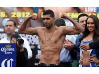 Amir Khan vs Phil Lo Greco tickets for sale SELLING QUICK DEAD STOCK