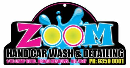 ZOOM HAND CAR WASH & DETAILING STEAM CLEANING CUT POLISH Broadmeadows Hume Area Preview