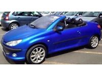 Peugeot 206 convertible for sale Perfect summer runaround selling as need to use driveway
