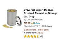 Brand New Universal Expert Sebastian Conran Storage Jar