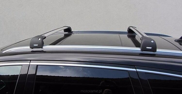thule wingbar edge 9595 roof bars in portstewart county. Black Bedroom Furniture Sets. Home Design Ideas
