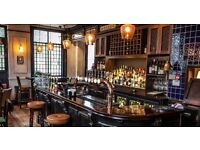Front of House staff and Kitchen staff needed for small, friendly locals gastro-pub in Hackney
