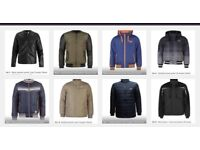 Men jackets BNWT (branded) less than half price