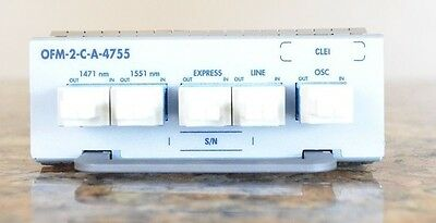 Infinera Ofm 2 C A 4755 2 Channel Cwdm Oadm Module For Atc A Atn 1471   1551 Nm