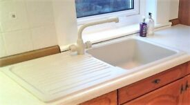 Carron Phoenix Kitchen Sink with matching Mixer Tap