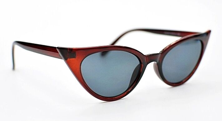 a7ecd3ad8267 Cat Eye Sunglasses Retro 1950/1960s Fashion In 5 Colours with Metal Hinges  SG58