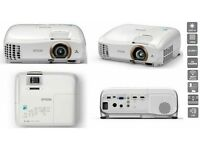 Epson Projector, Eh-tw5350 1080p 2200lm 2x Hdmi Full Hd 3d